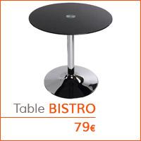 Coin déco - Table d'appoint BISTRO