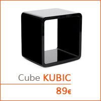 Mon premier appartement - Cube de rangement KUBIC