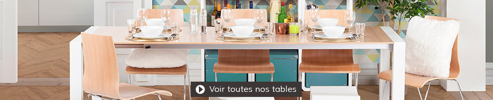 Table pour restaurant, hôtel et cafe - Alterego Design