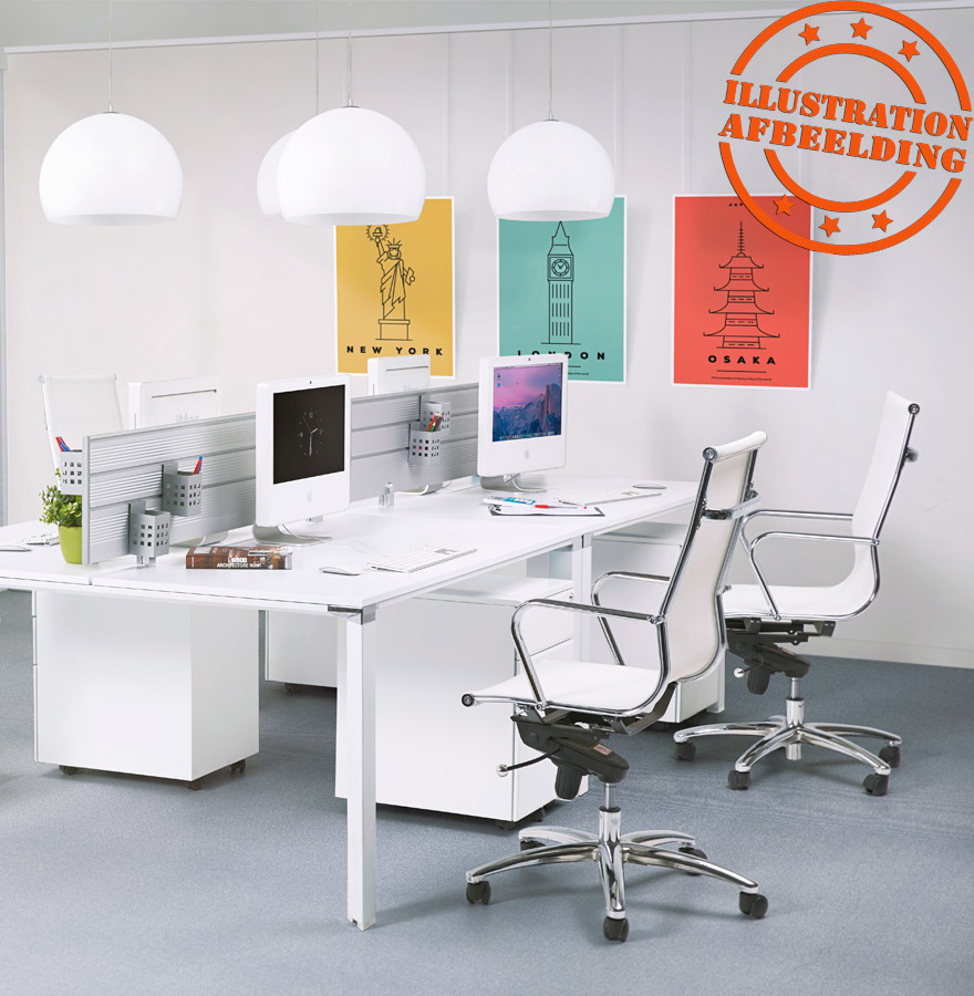 fauteuil de bureau moderne air blanc fauteuil design. Black Bedroom Furniture Sets. Home Design Ideas