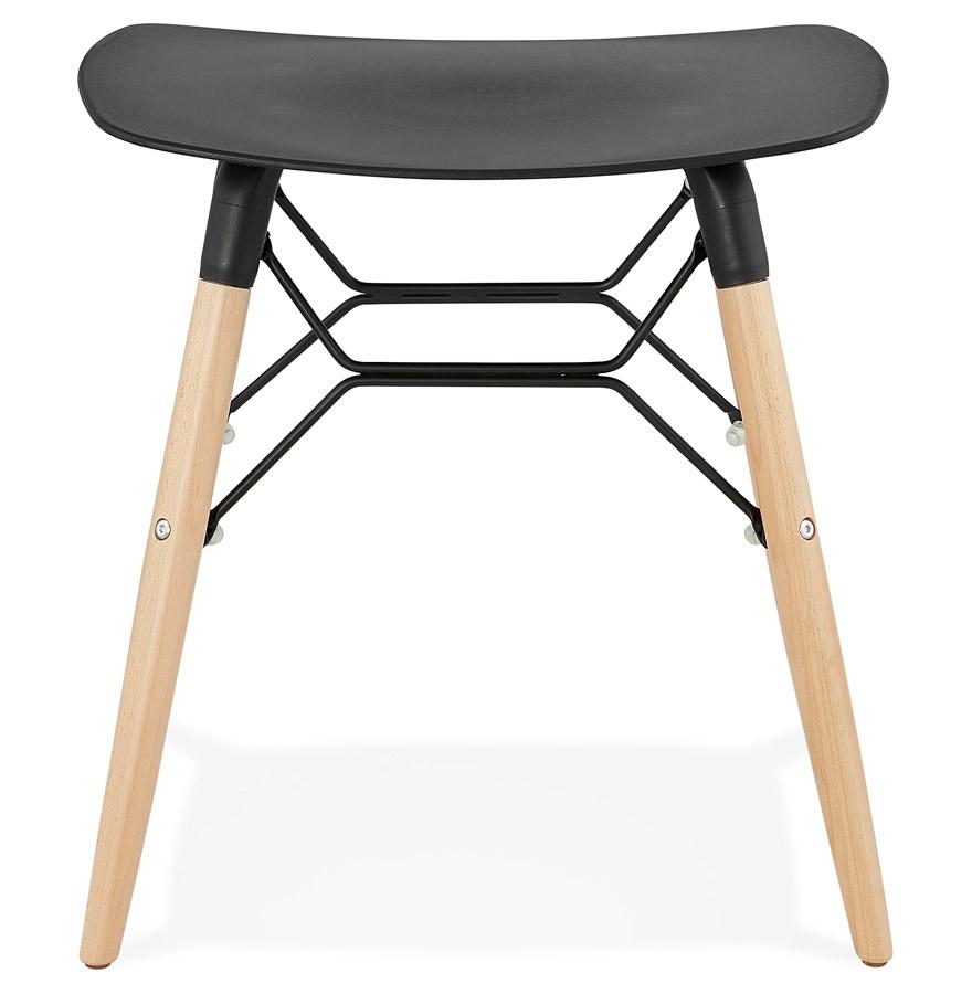 tabouret bas aladin noir style scandinave tabouret design. Black Bedroom Furniture Sets. Home Design Ideas