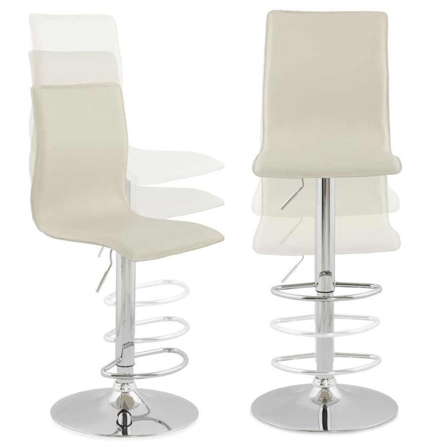 tabouret de bar design alto cr me tabouret design. Black Bedroom Furniture Sets. Home Design Ideas