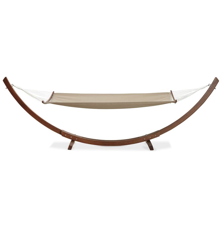 Hamac arc xxl ´AMAK´ support bois et toile démontable