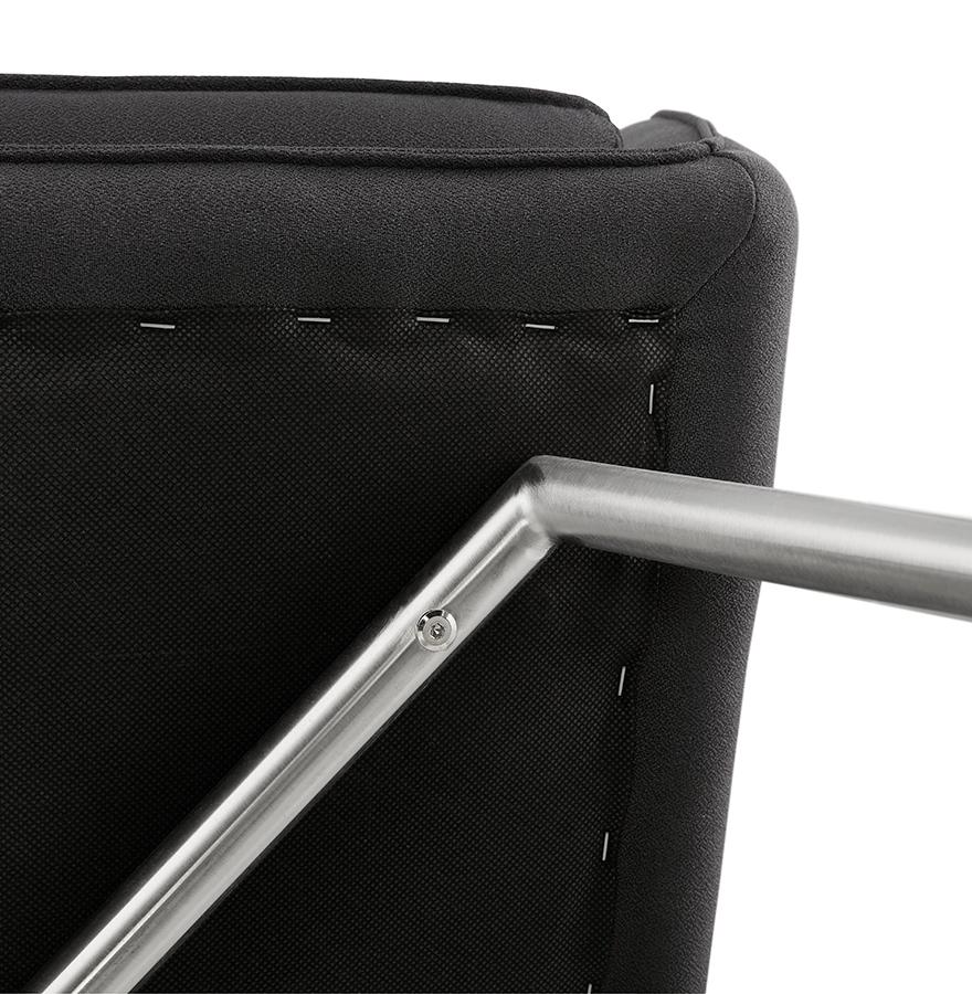 loungezetel astana in donkergrijze stof design zetel. Black Bedroom Furniture Sets. Home Design Ideas