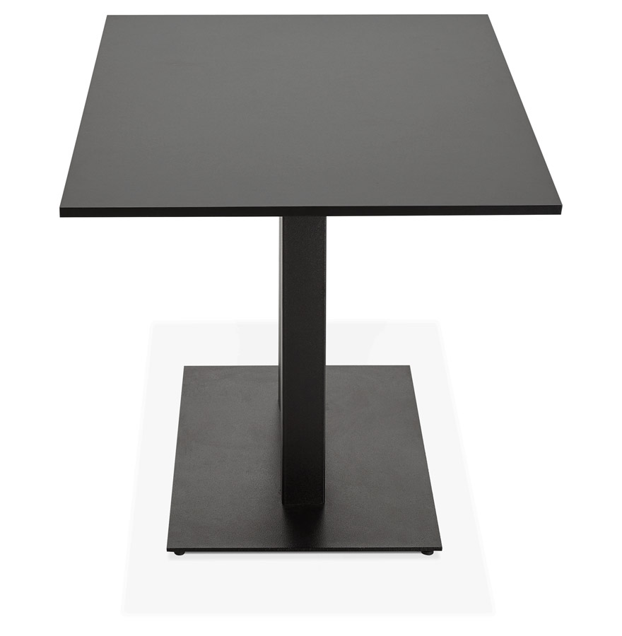 Table / bureau design ´AUSTIN´ noir - 160x80 cm