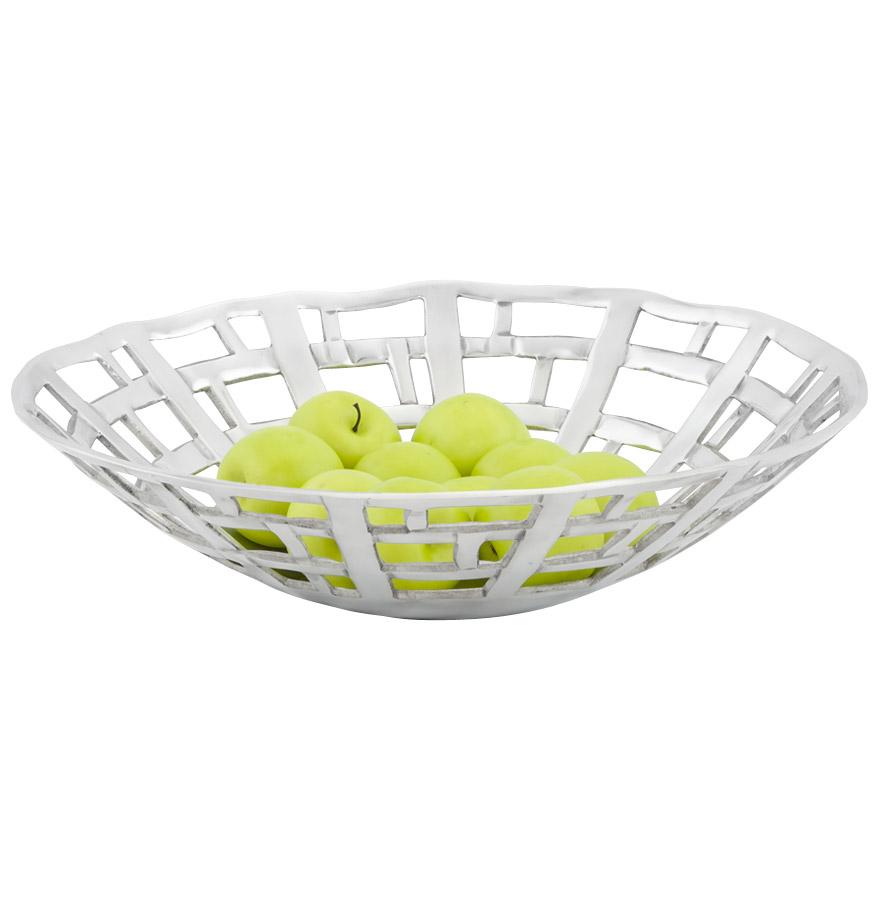 corbeille fruits avox en aluminium d coration de table. Black Bedroom Furniture Sets. Home Design Ideas