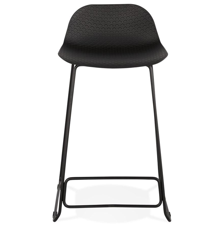 Tabouret snack mi-hauteur ´BABYLOS MINI´ noir design