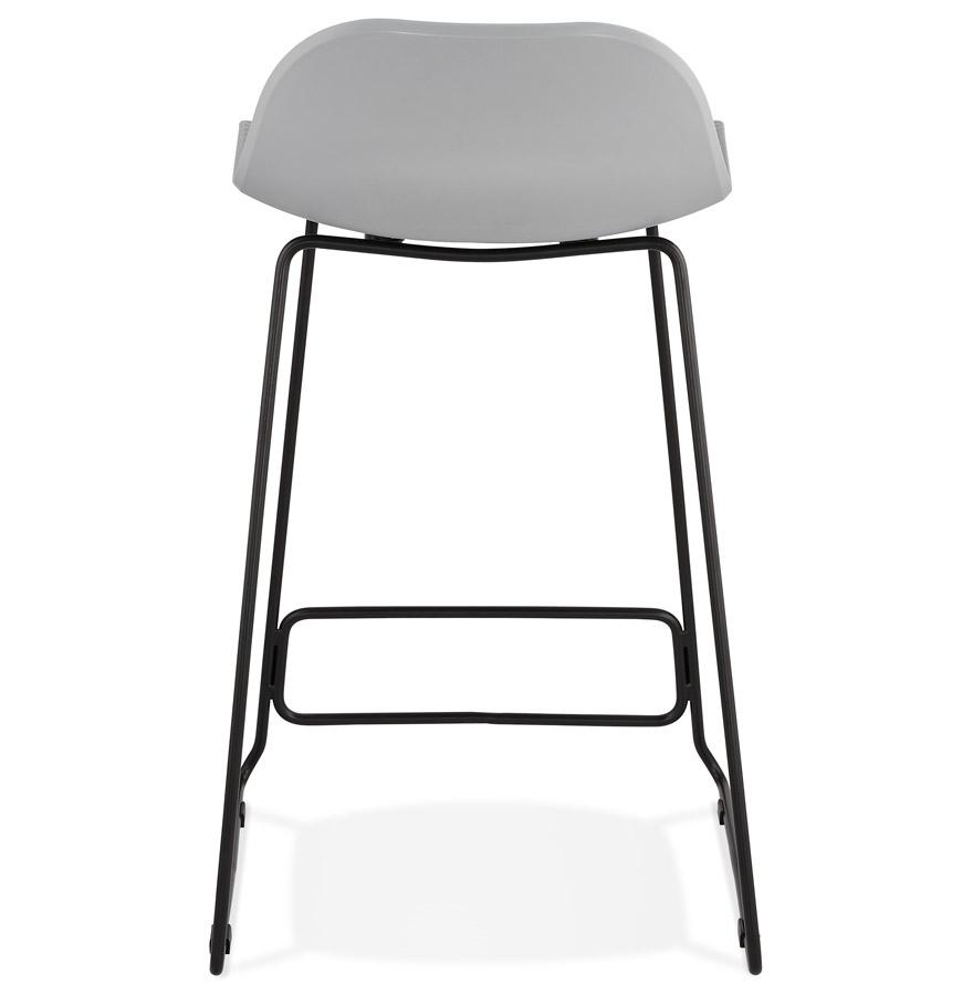 tabouret snack babylos mini gris tabouret style industriel. Black Bedroom Furniture Sets. Home Design Ideas