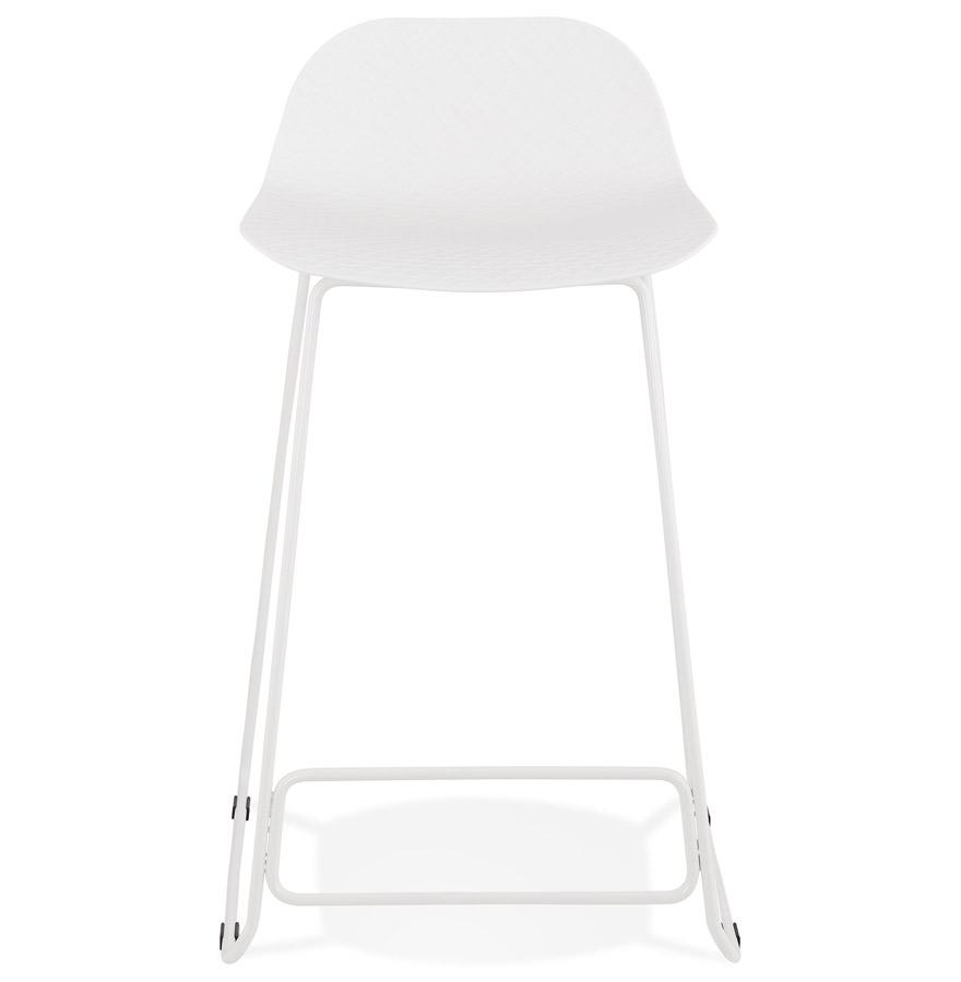 Tabouret snack mi-hauteur ´BABYLOS MINI´ blanc design