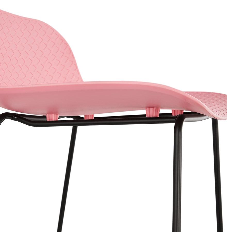 barkruk babylos roze industri le stijl design kruk. Black Bedroom Furniture Sets. Home Design Ideas