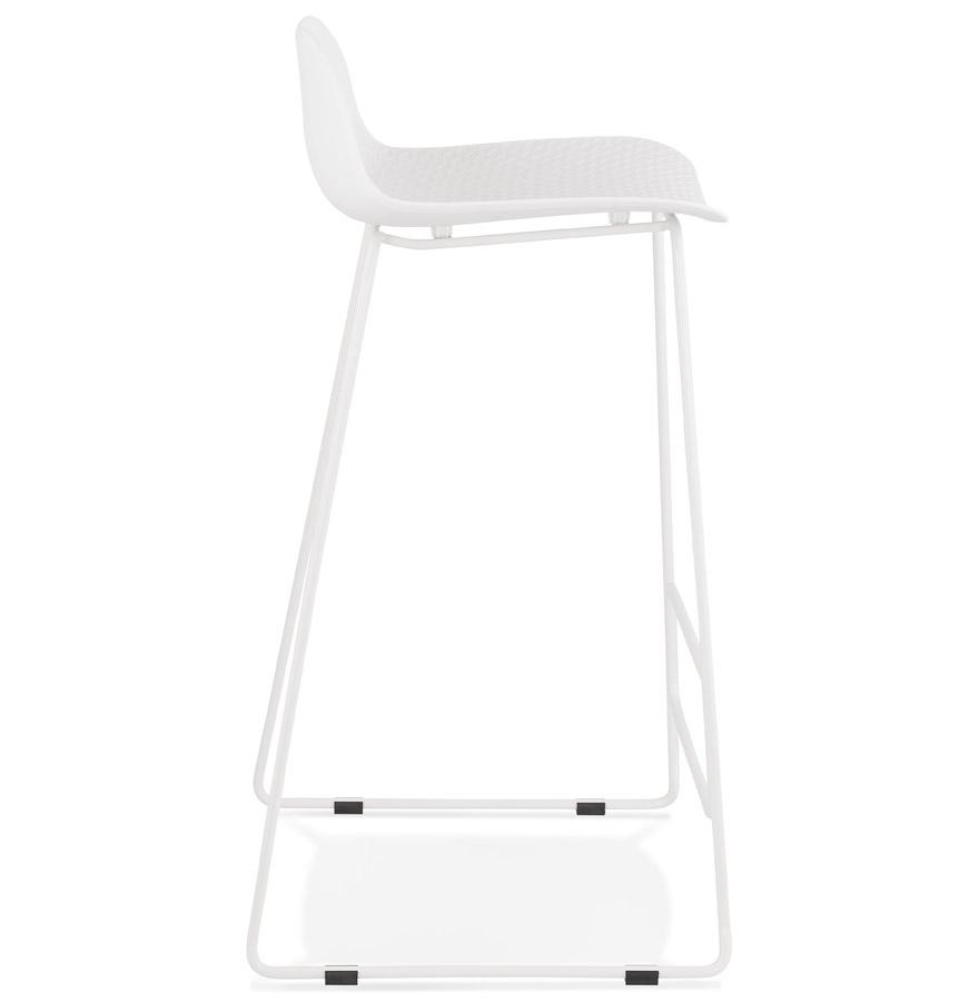 Tabouret de bar design ´BABYLOS´ blanc design