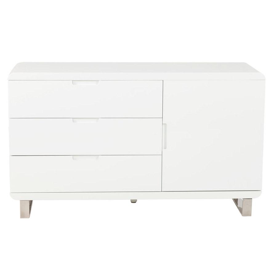 Bahut ´BAHU´ blanc en bois