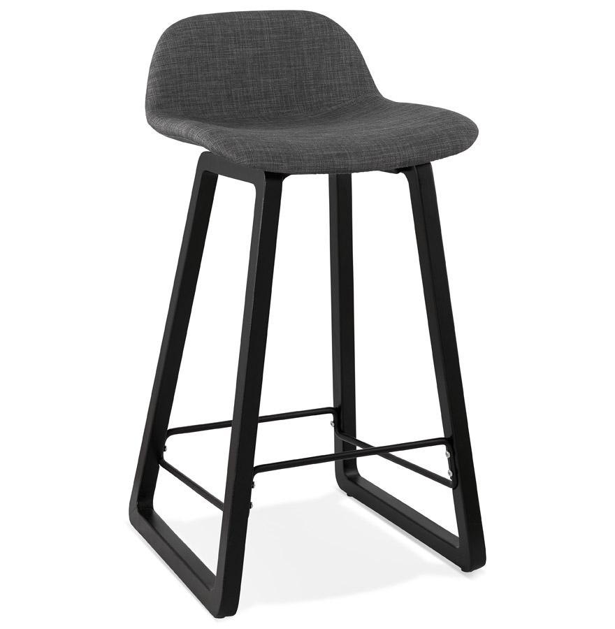 tabouret snack mi hauteur baltik mini noir tabouret. Black Bedroom Furniture Sets. Home Design Ideas