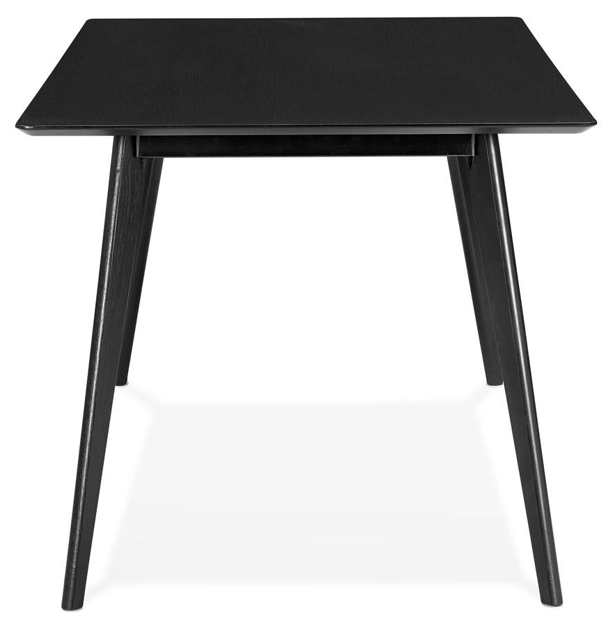 Table à manger / bureau design ´BARISTA´ en bois noir - 180x90 cm