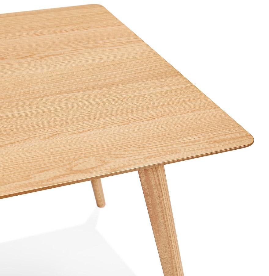barista design eettafel in hout in scandinavische stijl 180x90 cm. Black Bedroom Furniture Sets. Home Design Ideas