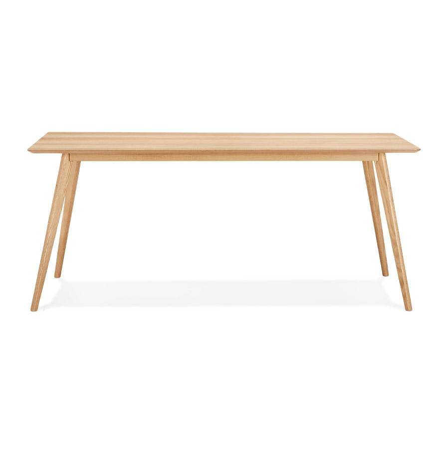 Table à manger / bureau design ´BARISTA´ en bois style scandinave - 180x90 cm