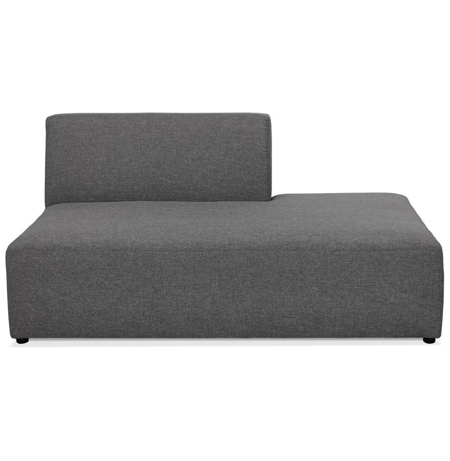 Élément de canapé modulable ´BELAGIO BENCH´ gris foncé - méridienne droite