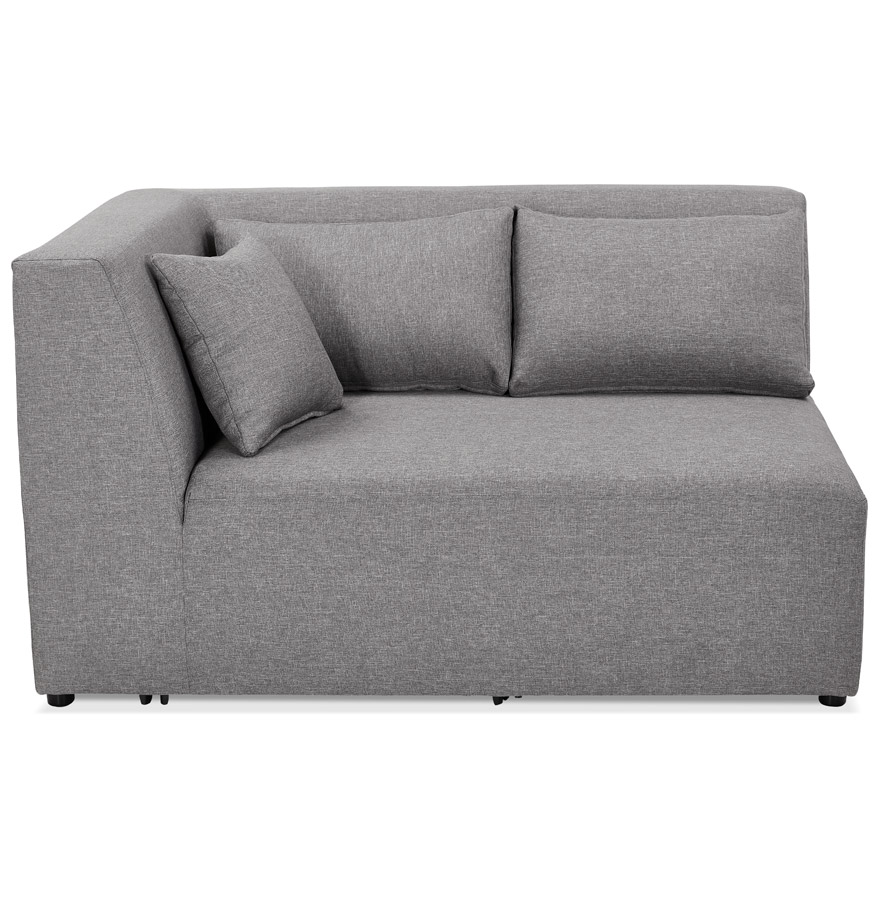 belagio corner grey h2 02b left - Élément de canapé modulable ´BELAGIO CORNER´ gris clair - coin angle gauche