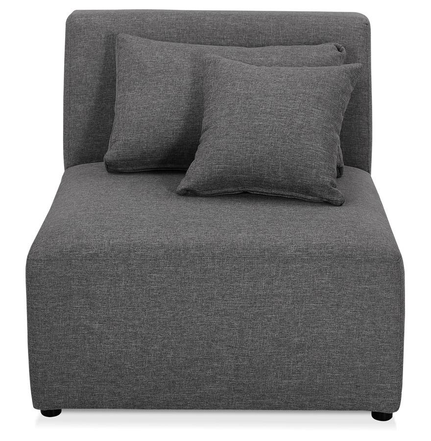 Élément de canapé modulable ´BELAGIO SEAT´ gris foncé - module 1 place