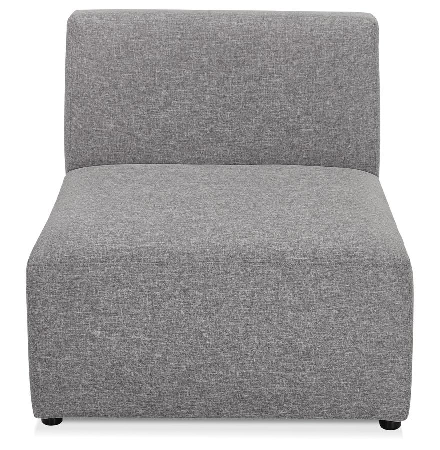 Élément de canapé modulable ´BELAGIO SEAT´ gris clair - module 1 place