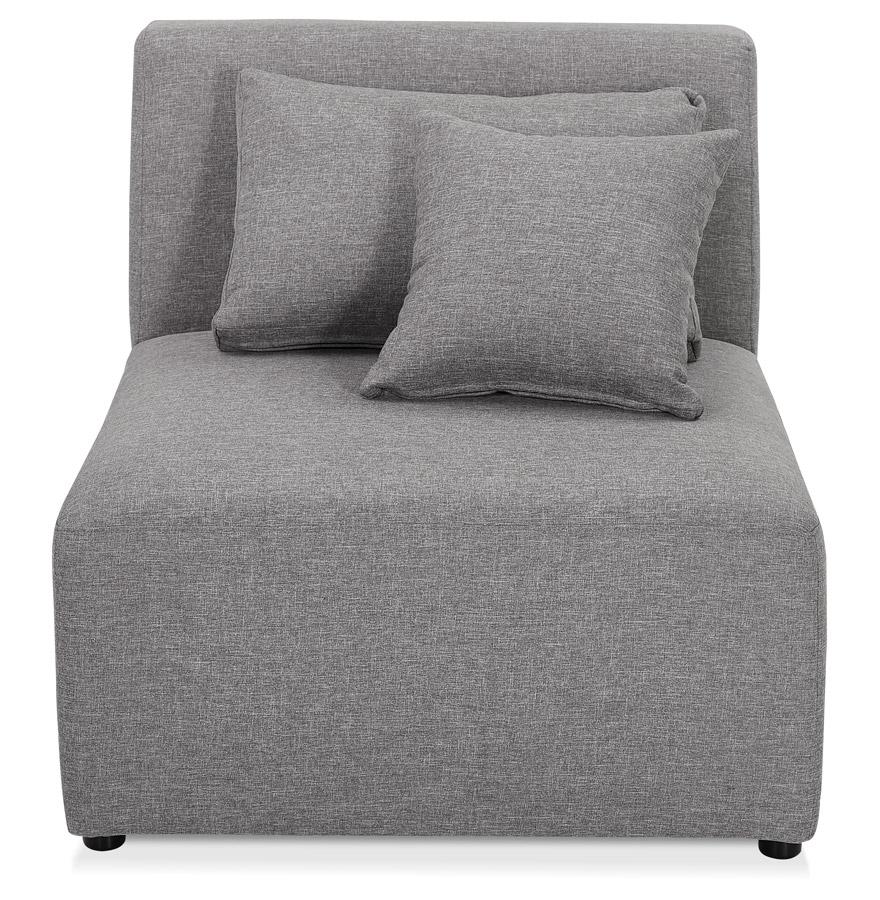 belagio seat grey h2 02b - Élément de canapé modulable ´BELAGIO SEAT´ gris clair - module 1 place