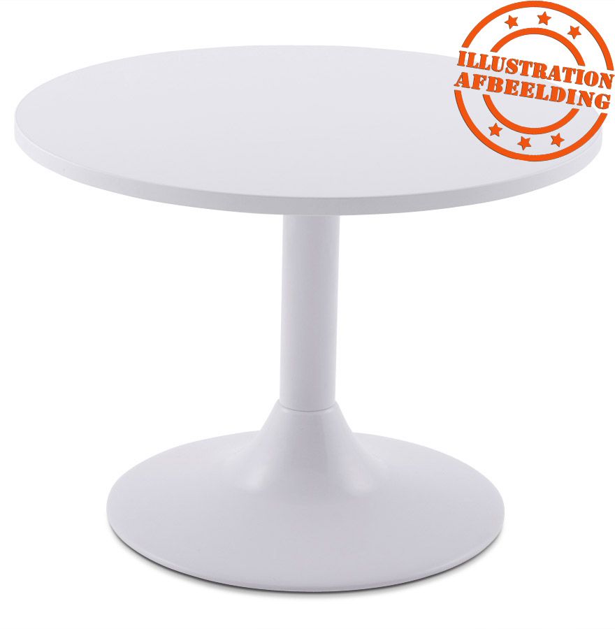 pied de table bianko 45 en m tal blanc alterego design. Black Bedroom Furniture Sets. Home Design Ideas