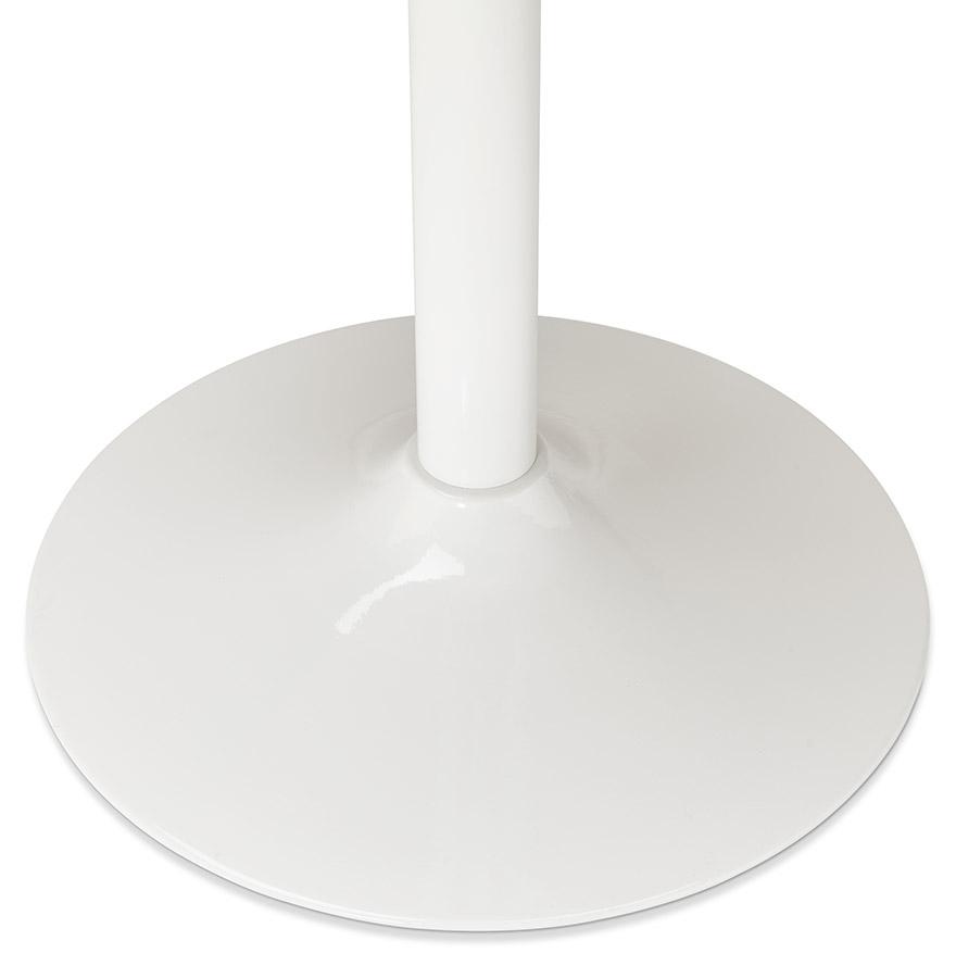 Pied de table ´BIANKO´ 75 en métal blanc