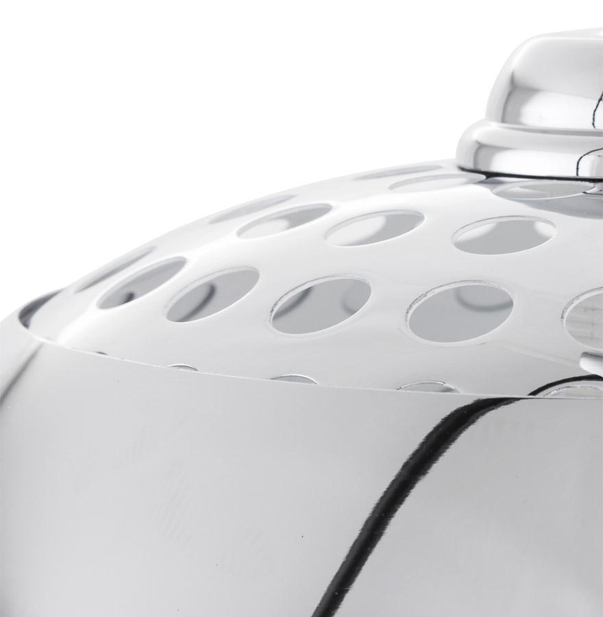 Lampadaire design en arc ´BIG BOW XL´ abat-jour chromé
