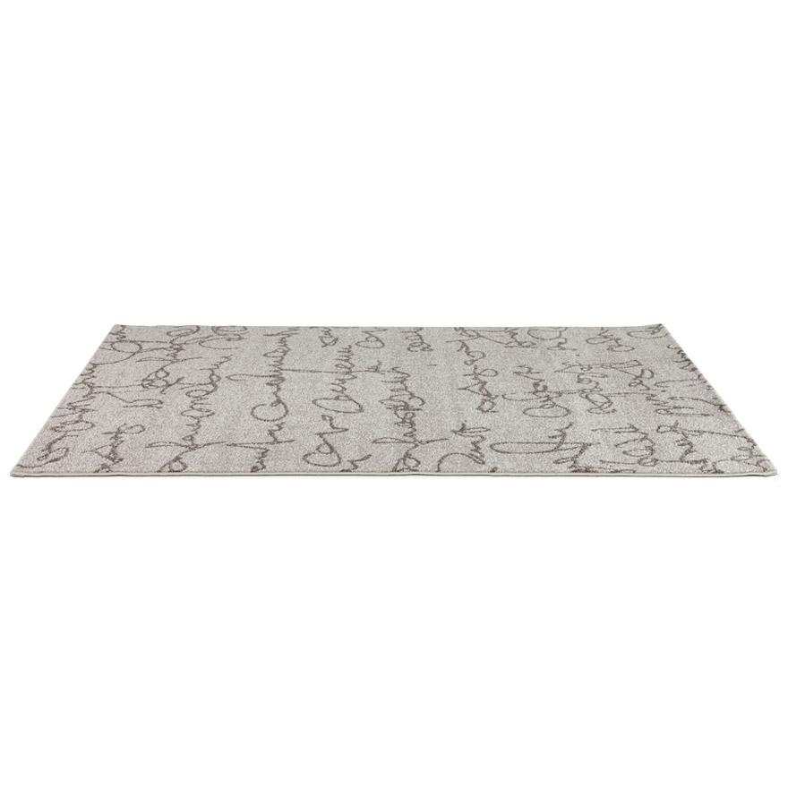 Tapis design de salon ´BLABLA´ 160/230 cm à poils courts