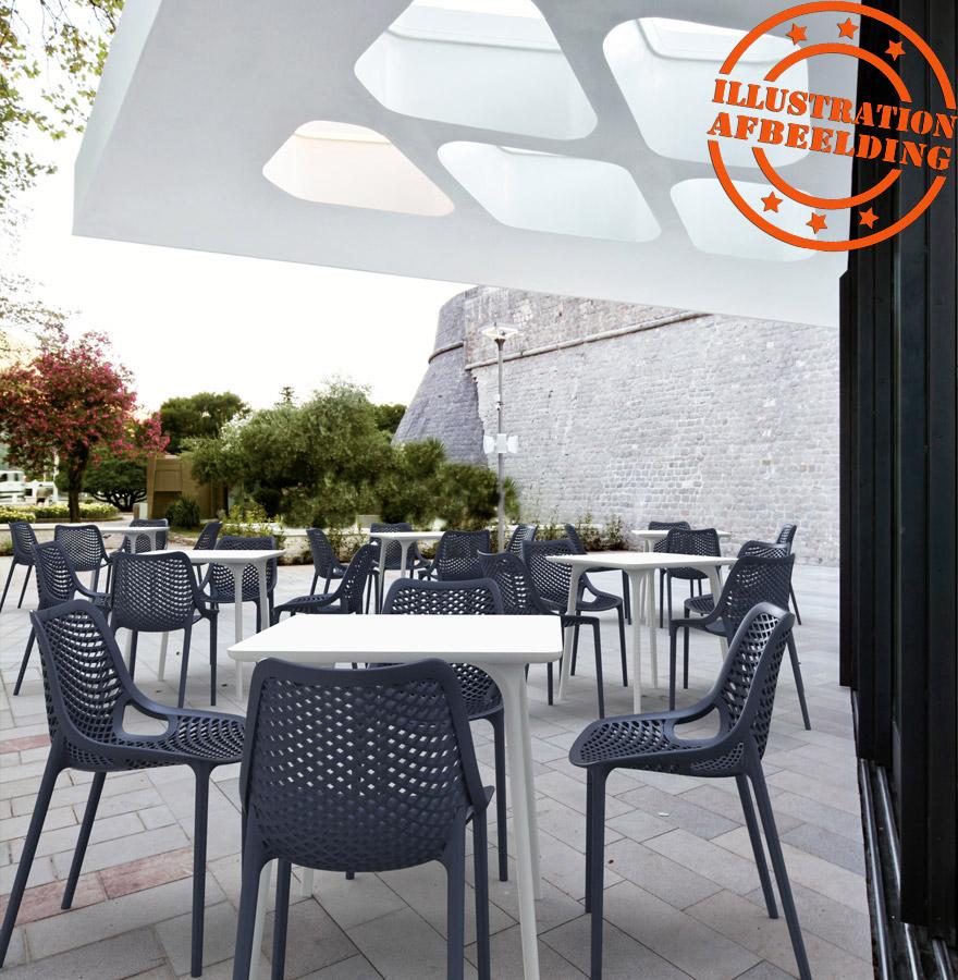 design stoel blow moderne zwarte stoel uit kunststof. Black Bedroom Furniture Sets. Home Design Ideas