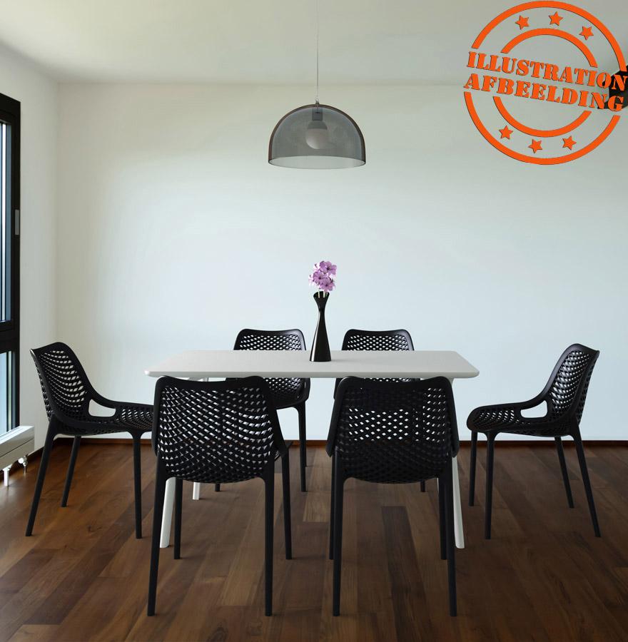 design stoel blow moderne witte stoel uit kunststof. Black Bedroom Furniture Sets. Home Design Ideas