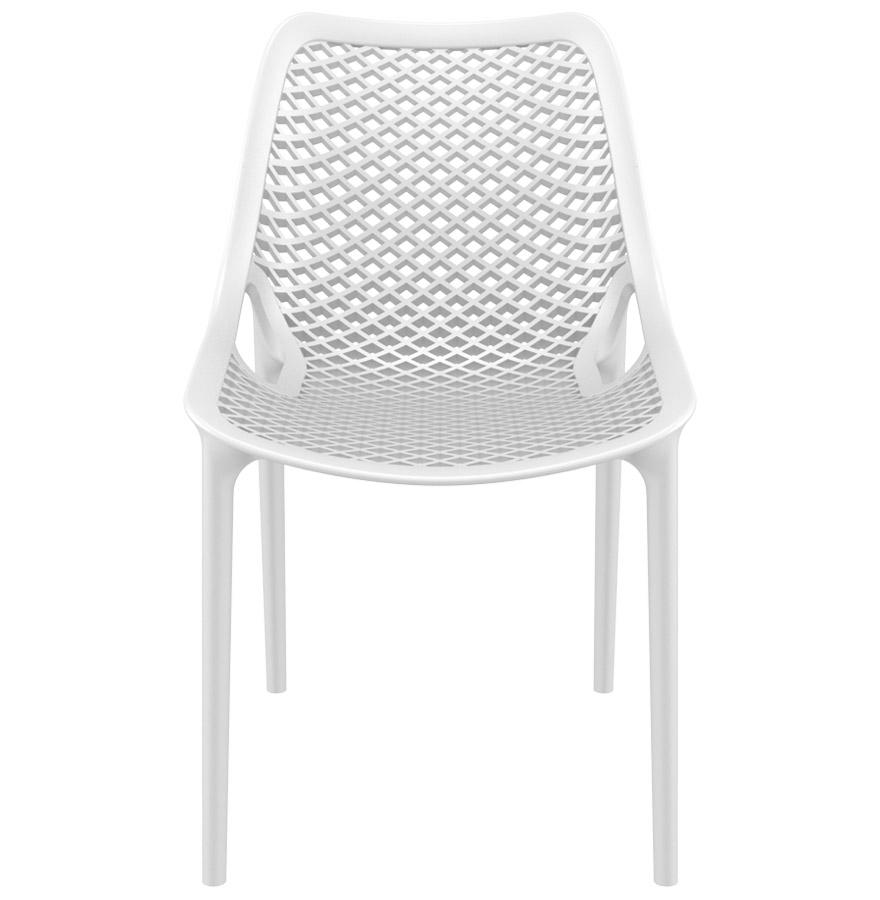 blow white newsite 02 1 - Chaise moderne ´BLOW´ blanche en matière plastique