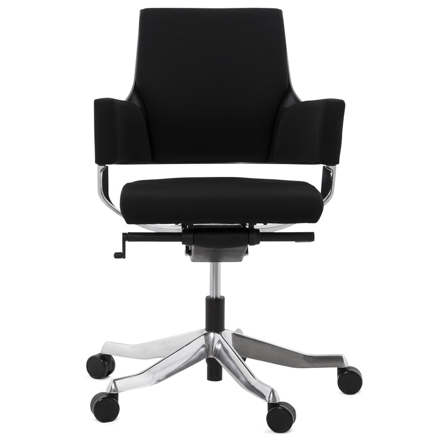 Fauteuil de bureau moderne ´BOSS´ noir