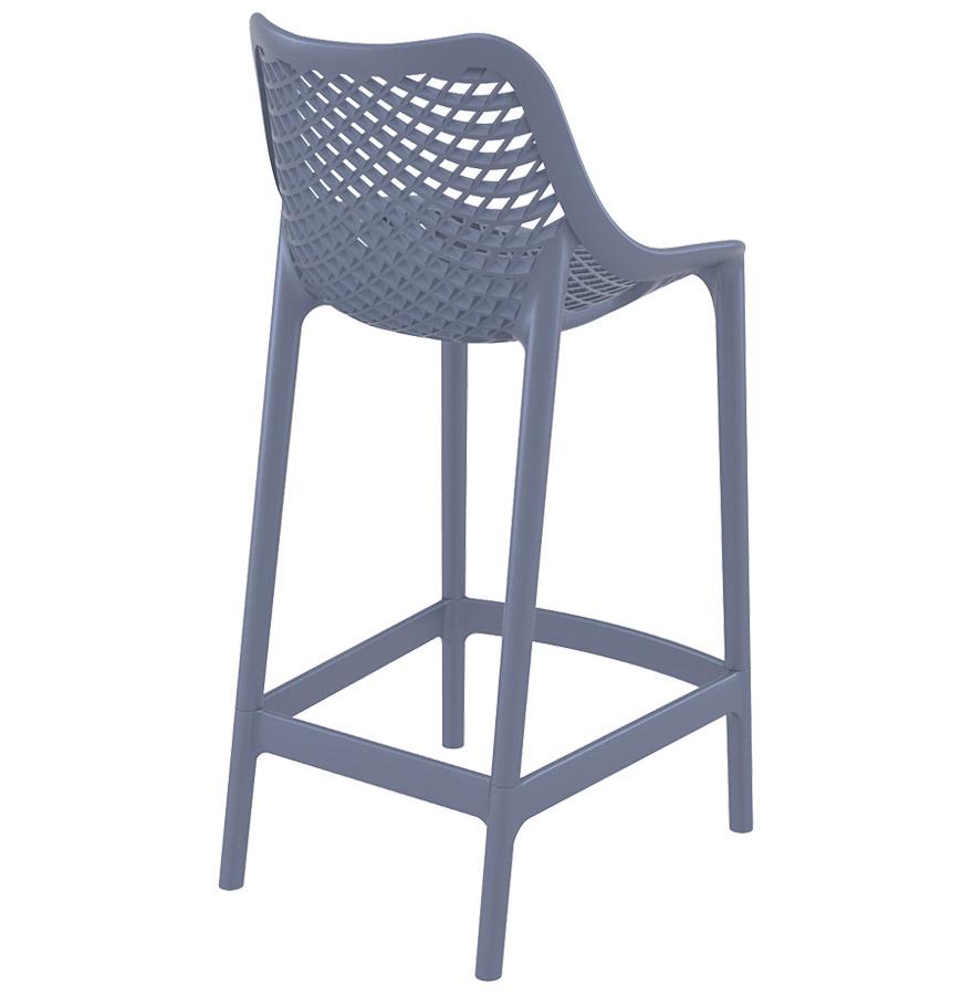 tabouret snack brozer mini gris fonc tabouret de jardin. Black Bedroom Furniture Sets. Home Design Ideas