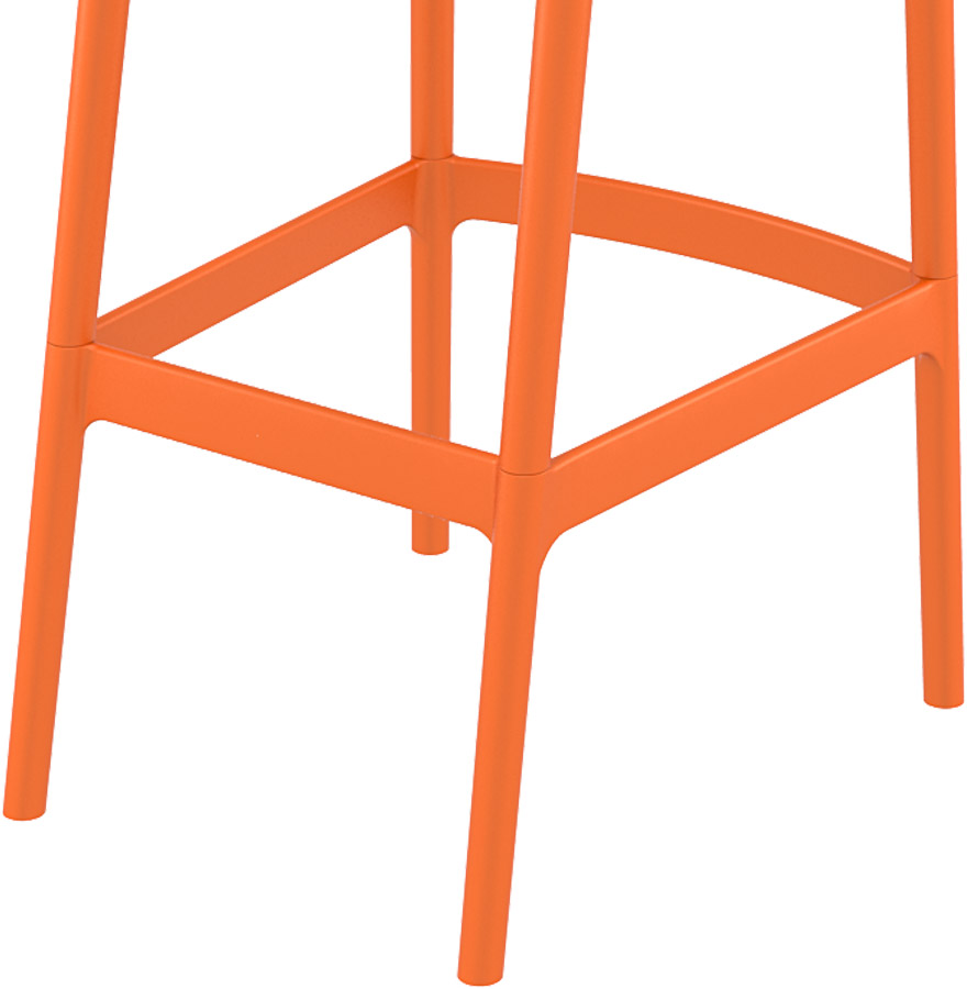 tabouret de jardin brozer orange tabouret de bar design. Black Bedroom Furniture Sets. Home Design Ideas