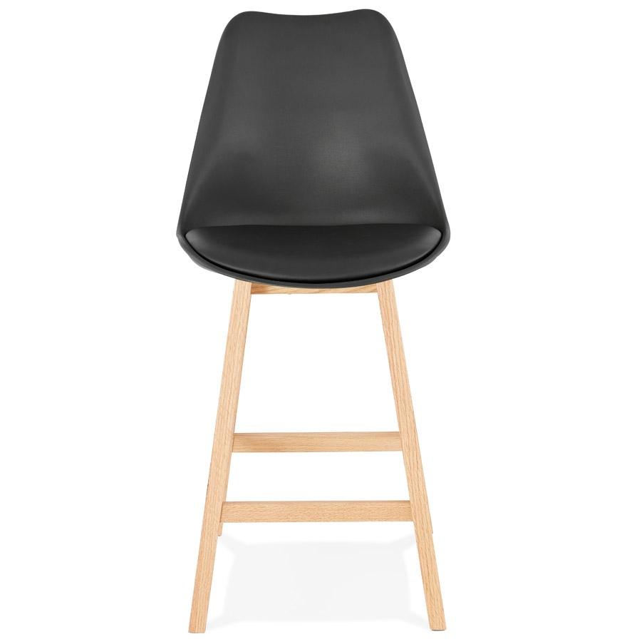 tabouret snack mi hauteur camila mini noir style scandinave. Black Bedroom Furniture Sets. Home Design Ideas