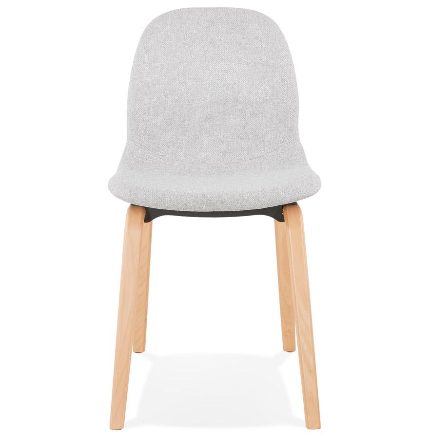 en de scandinave Chaise Addesign salle à tissu clair manger ´CELTIK´ gris T3l1JcFK