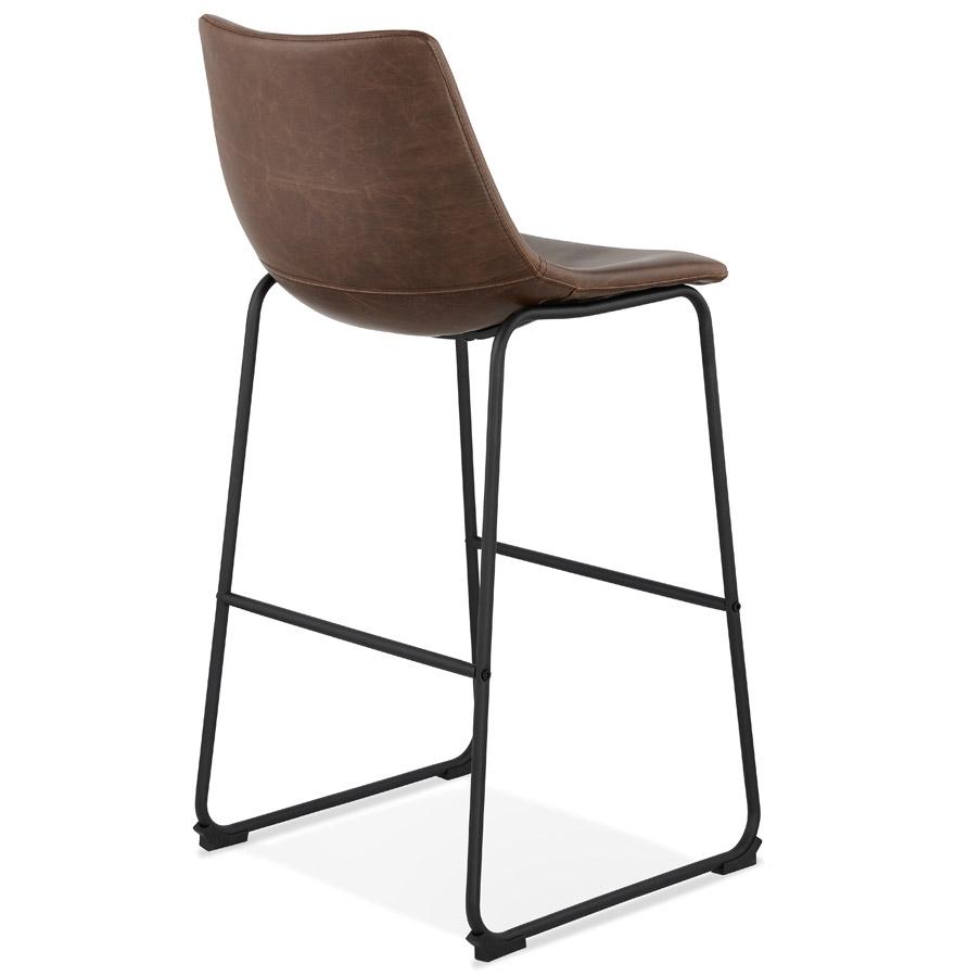 tabouret de bar vintage cherif brun tabouret design. Black Bedroom Furniture Sets. Home Design Ideas