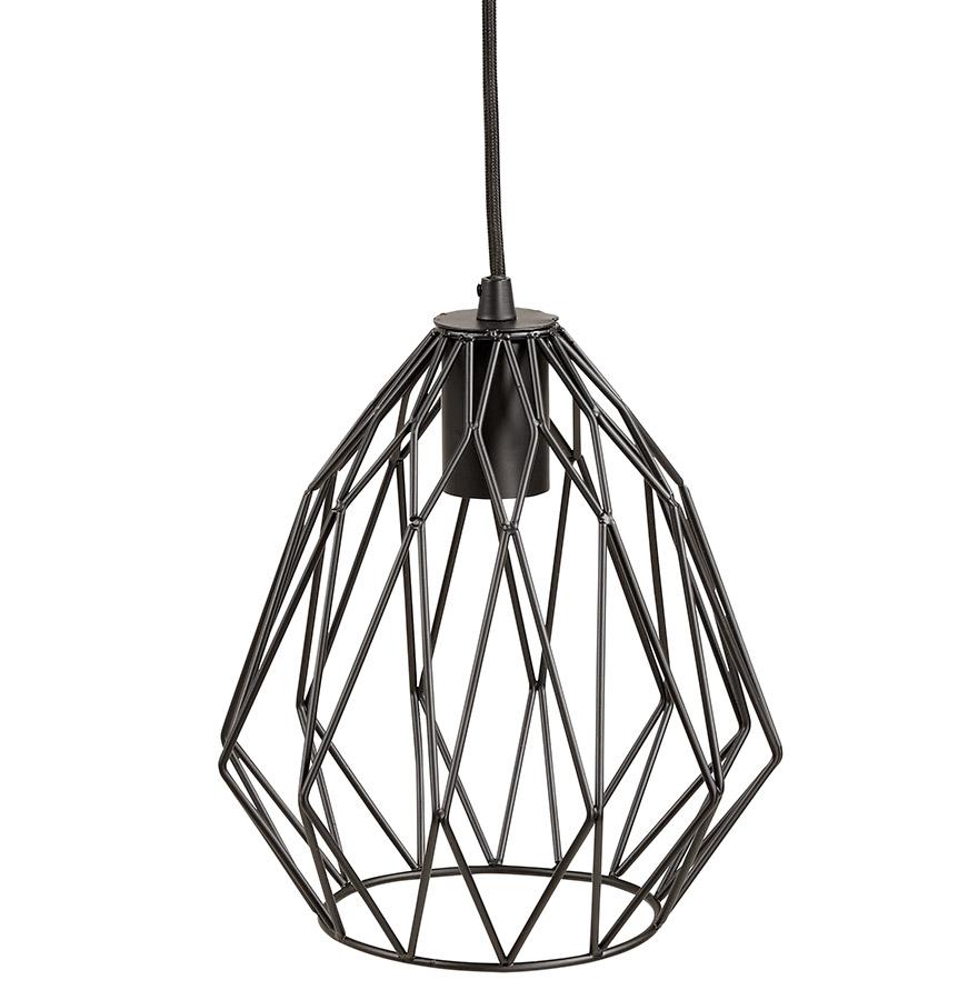 suspension design chipchip noire lustre original. Black Bedroom Furniture Sets. Home Design Ideas