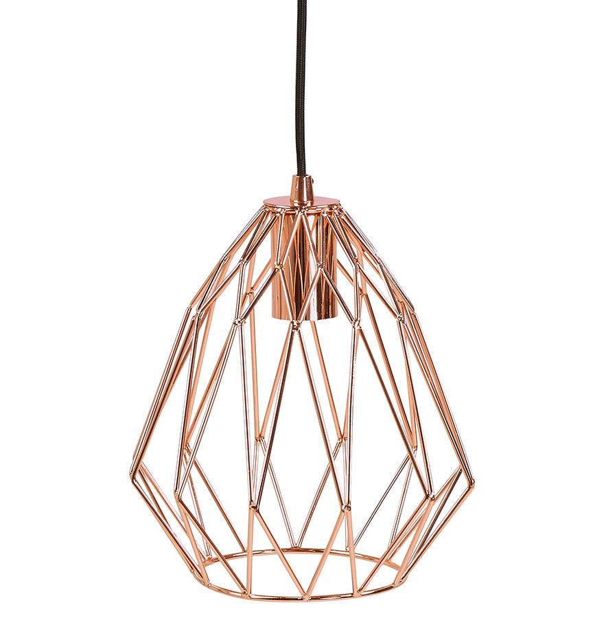 Suspension design ´CHIPCHIP´ couleur cuivre