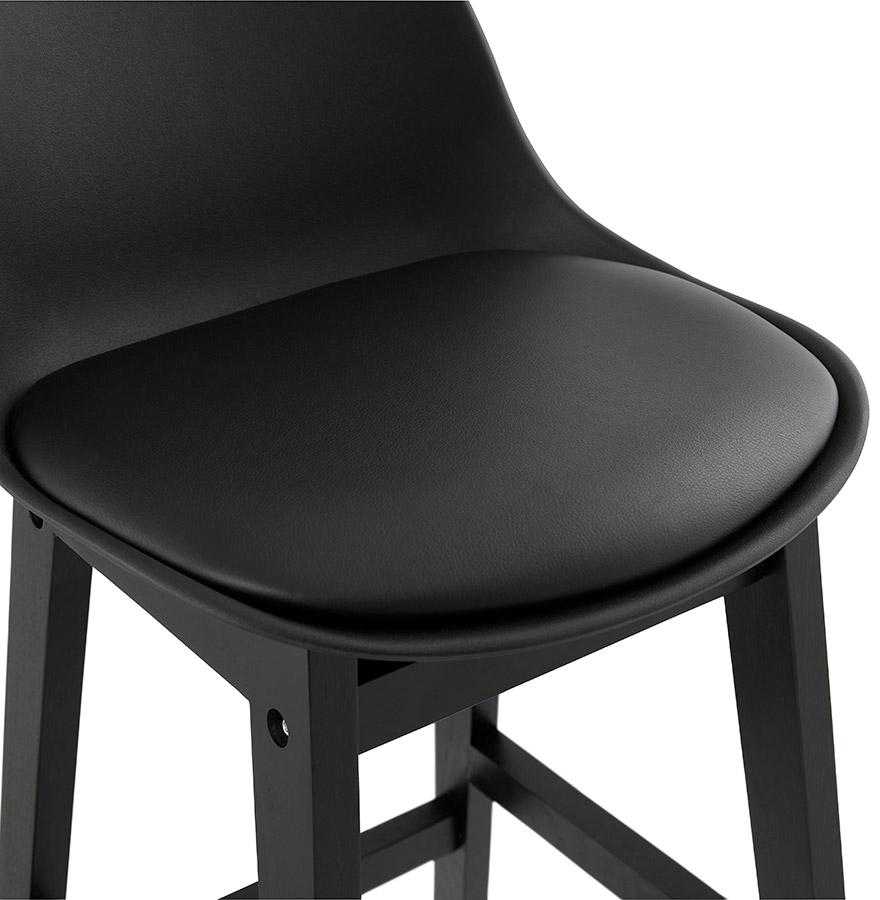 tabouret de bar clio noir tabouret design. Black Bedroom Furniture Sets. Home Design Ideas