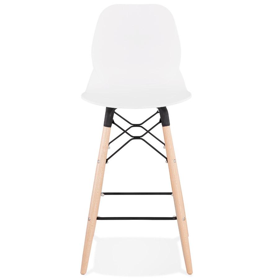 Tabouret snack mi-hauteur ´COSMIK MINI´ blanc style scandinave
