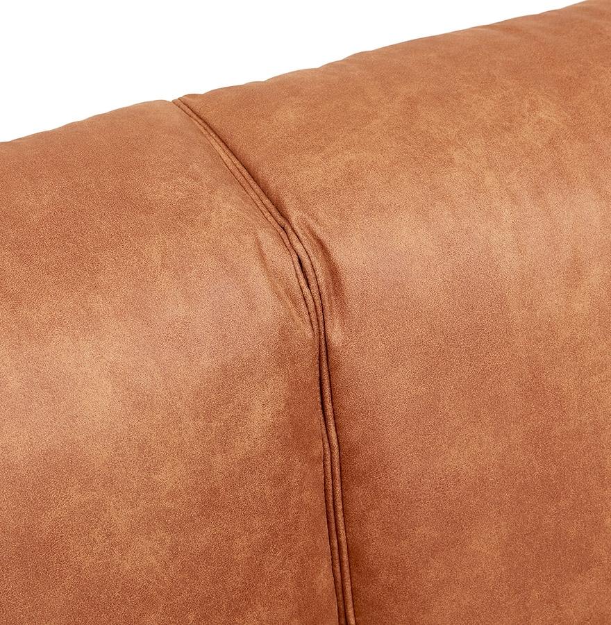 kaneelkleurige rechte coyot bank 3 zits designbank. Black Bedroom Furniture Sets. Home Design Ideas
