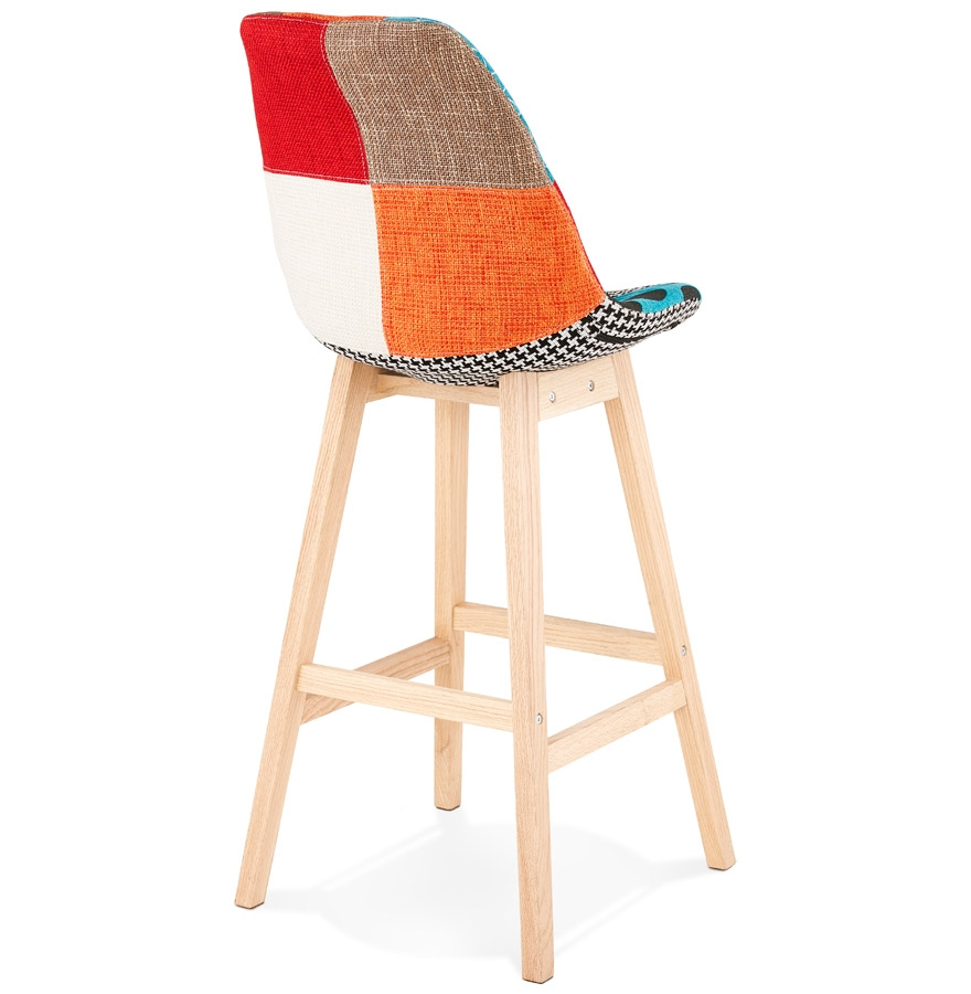 tabouret de bar cupidon style patchwork tabouret design. Black Bedroom Furniture Sets. Home Design Ideas