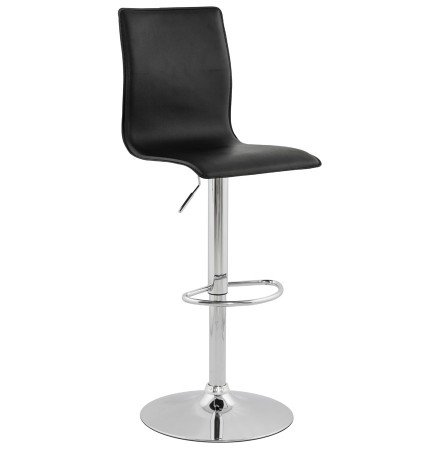 Tabouret design reglable ALTO noir - Alterego