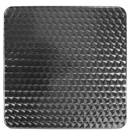 Plateau de table 'BARCA' carré 70x70 cm acier inoxidable