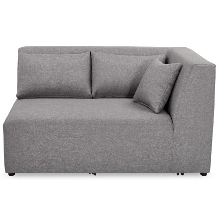 Élément de canapé modulable 'BELAGIO CORNER' gris clair - coin  angle droit