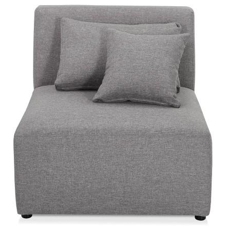 Élément de canapé modulable 'BELAGIO SEAT' gris clair - module 1 place