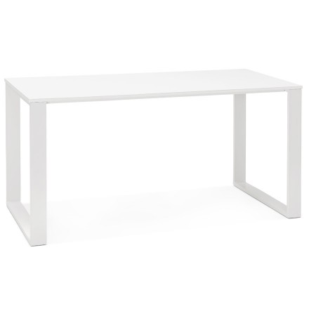 Bureau droit/table à diner 'CALIFORNIA' en bois blanc