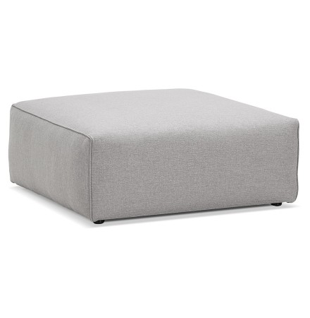Pouf de canapé design 'CANYON ONE' gris clair